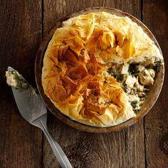 Ce pâté au poulet est spectaculaire et met en vedette les saveurs du poulet et des champignons d'une façon toute nouvelle.  | Le Poulet du Québec