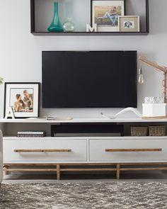 "Hooker Furniture Piernia Entertainment Console, $1725 + shipping, 88"""