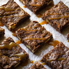 Salted Caramel Twix Brownies Recipe on Yummly