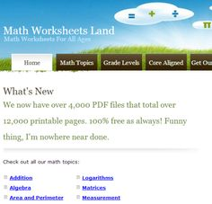 math worksheet : great website for ela worksheets englishworksheetsland   : Math Worksheets Land