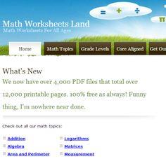 math worksheet : great website for ela worksheets englishworksheetsland   : Math Worksheets Land