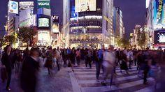 Shibuya Crossing. Japan