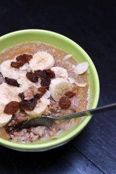 Porridge à la fleur d'oranger • Un invincible été
