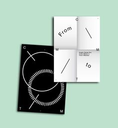 blackforwhitedesign:  FROM C.M TO T.M / GRAPHIC DUO COMING SOON / CORBIN & TIMON