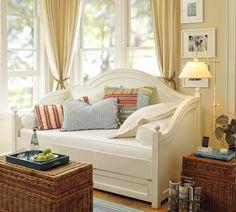 "Cameron Organic Cotton Matelasse Bolster Pillow Cover, 8 x 30"", Natural"
