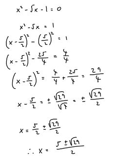 Useful manipulation of the expression ax^3+bx^2+cx+d=0
