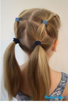 Easy Hairstyles For School That Will Make Mornings Simpler Easy Hairstyles For School That Will Make Mornings Simpler - Beautiful hair styles for girls. 6 Easy Hairstyles For School That Will Make Mornings Simpler Easy Little Girl Hairstyles, Girls Hairdos, Easy Hairstyles For School, Quick Hairstyles, Hair Girls, Teenage Hairstyles, Wedding Hairstyles, Cute Kids Hairstyles, Wedding Updo
