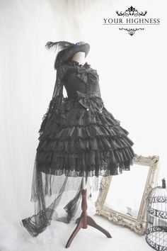Your Highness -The Fairy Princess- Sweet and Gothic Lolita Jumper Dress