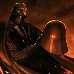 Anakin Skywalker aka Darth Vader. Star Wars