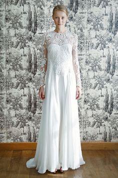 Dan & Corina Lecca,Temperley, Florence 2013 Modest Wedding Dresses, Designer Wedding Dresses, Bridal Dresses, Wedding Gowns, Formal Dresses, Wedding Inspiration, Style Inspiration, Wedding Trends, Dream Dress