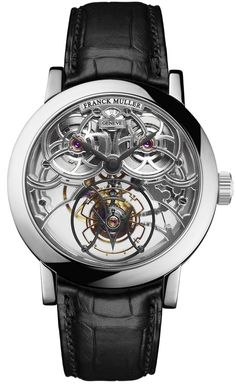 bb9be11a2e2 A luxury timepiece by Franck Muller Giga Tourbillon Round watch with style.  Franck Muller
