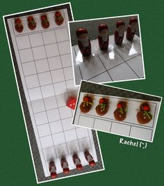 "Making up board games... Which Father Christmas will be the first to wake his reindeer? - from Rachel ("",)"