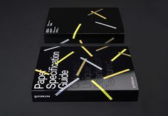 Paper Specification Guide designed by Design Projects.