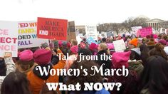 Reviews, Chews & How-Tos: Thoughts on the Women's March 2017: What Now?