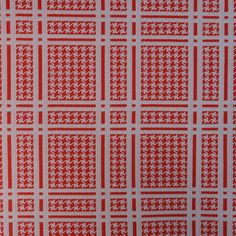 Vintage POLYESTER DOUBLE KNIT Fabric / Material - Red & White Plaid -  by VintageVoola, $30.00 White Plaid, Red And White, Double Knitting, Fabric Material, Knitted Fabric, Notes, Amp, Pattern, Vintage