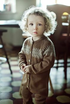 Earthy Colours at DaWanda Camel brown color raglan overall   has a front opening buttoned up with coconut buttons for an easy dressing. It features a classical design jacquard pattern near the neck line.   Every detail is...