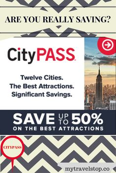 Does CityPASS really save you money on a city's top attractions? The verdict is yes! #couponskiss Travel, Tours Tickets & Passes