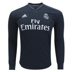 7b20460d134 Cheap Real Madrid Away Football Shirt 18 19 Long Sleeves