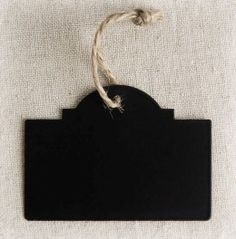 Chalk board tags-save-on-crafts.com