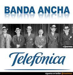 Banda ancha de Telefónica.