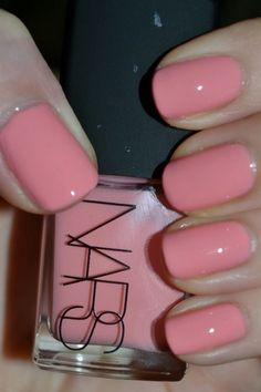 manicure - Nars Trouville - Seashell pink | See more nail designs at www.nailsss.com/...