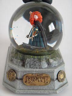 brave merida snow globes   Brave Princess Merida Snowglobe - Midrange Front View #1 - Base and ...