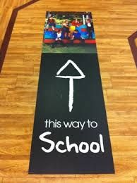 Image result for floor advertising