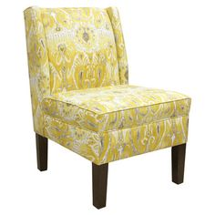 I pinned this Alessandra Wingback Chair from the Entertainment Room event at Joss and Main!