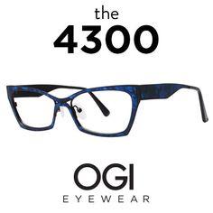 5aea512bed4 Ogi Eyewear 4300 in Sapphire Women s Eyewear