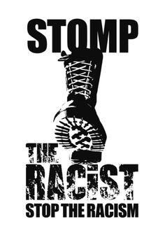 """洋子, 斧(@walkinonthinice) × da-ruck(rack?) (@da_ruck) collaboration ANTI RACISM Tee """"STOMP!"""" COMING SOON!!"""