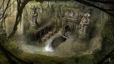 ArtStation - Caves of Ven;thor, Brandon Fernandes