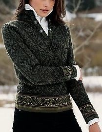 Spectacular Oleana sweater
