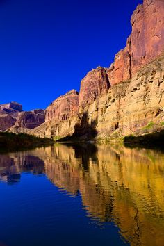The Colorado River in Marble Canyon, Grand Canyon National Park, Arizona USA