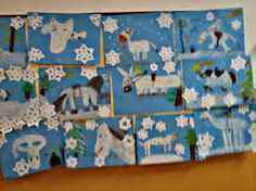 martin na bílém koni Art Plastique, Winter Time, Martini, Art For Kids, November, Flag, Quilts, Children, Snow