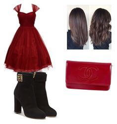 """""""Untitled #14"""" by crazygirl23432 on Polyvore featuring Unique Vintage, Chanel and Salvatore Ferragamo"""