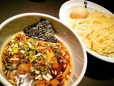 麺屋武蔵 虎嘯 の味玉つけ麺