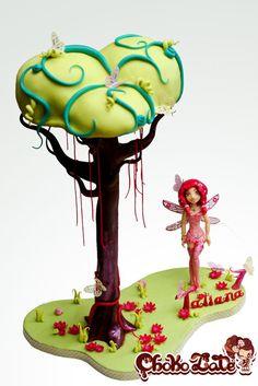 Mia and Me - by ChokoLate @ CakesDecor.com - cake decorating website