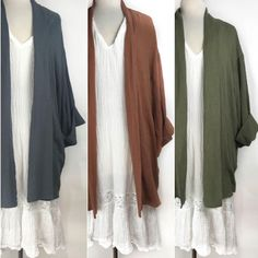 Pretty penny curated collection cotton gauze jackets. Shop prettypennyclothing.com