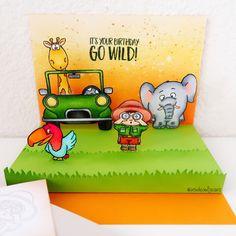 Floating Floor Pop Up - Go Wild - Jeannie Lieu – Gerda Steiner Designs, LLC