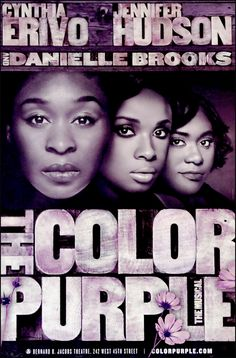 The Color Purple The Musical Official Broadway Poster $20.00
