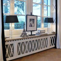Экраны для батарей отопления в интерьере - виды, особенности установки, советы по выбору, фотографии декоративных экранов в интерьерах (45 фотографий)