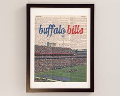 Hey, I found this really awesome Etsy listing at https://www.etsy.com/listing/176902762/buffalo-bills-dictionary-art-print-ralph