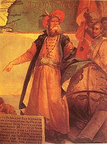John Cabot (c. 1450 – c. 1499) was an Italian navigator and explorer whose 1497 discovery of parts of North America under the commission of Henry VII of England is commonly held to have been the first European encounter with the mainland of North America since the Norse Vikings visits to Vinland in the eleventh century.