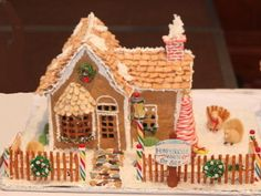 Intricate gingerbread houses are on display for delight and inspiration this weekend at Beech Activity Center for the Assistance League of Wichita's annual Gingerbread Village. http://www.examiner.com/article/wichita-s-assistance-league-hosting-gingerbread-village-this-weekend#  #examinercom