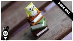 Image result for polymer clay owl jewelry