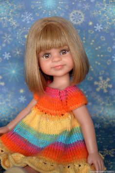 Мартовские звёзды / Куклы Паола Рейна, Paola Reina / Бэйбики. Куклы фото. Одежда для кукол