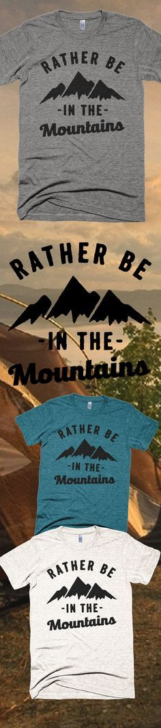 I Rather Be Hiking - Limited Edition. Only 2 days left for FREE SHIPPING, grab yours or gift it to a friend. You will both love it