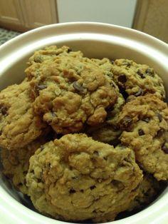 Choco chip oatmeal cookies