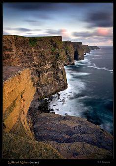 Atlantic Edge - Cliffs of Moher, Clare, Ireland Copyright: Stephen Emerson