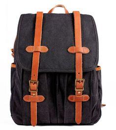Fashion Canvas Backpack Hiking Backpack Travel Backpack Laptop Backpack  School Backpack FB17-3 b803452440